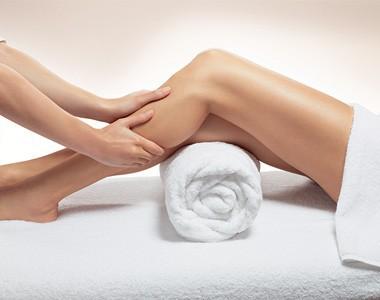 Massage jambes légères